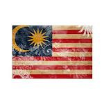 Malaysia Flag Rectangle Magnet