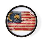 Malaysia Flag Wall Clock