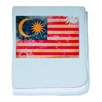 Malaysia Flag baby blanket