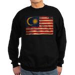 Malaysia Flag Sweatshirt (dark)