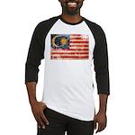 Malaysia Flag Baseball Jersey