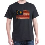 Malaysia Flag Dark T-Shirt