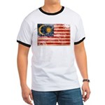 Malaysia Flag Ringer T