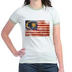 Malaysia Flag Jr. Ringer T-Shirt