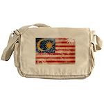 Malaysia Flag Messenger Bag