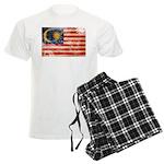 Malaysia Flag Men's Light Pajamas