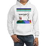 Comic You Can Do Hooded Sweatshirt