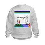 Comic You Can Do Kids Sweatshirt