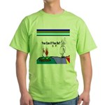 Comic You Can Do Green T-Shirt