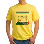 Comic You Can Do Yellow T-Shirt