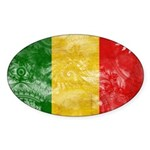 Mali Flag Sticker (Oval 50 pk)