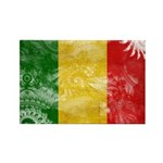 Mali Flag Rectangle Magnet (10 pack)