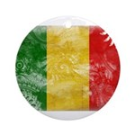 Mali Flag Ornament (Round)