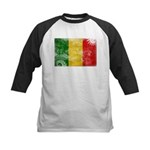 Mali Flag Kids Baseball Jersey