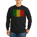 Mali Flag Long Sleeve Dark T-Shirt