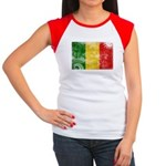 Mali Flag Women's Cap Sleeve T-Shirt
