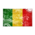 Mali Flag 22x14 Wall Peel