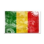 Mali Flag Car Magnet 20 x 12