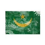 Mauritania Flag Rectangle Magnet (100 pack)
