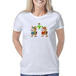 Mauritania Flag Organic Kids T-Shirt (dark)