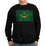 Mauritania Flag Sweatshirt (dark)