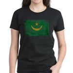 Mauritania Flag Women's Dark T-Shirt