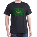 Mauritania Flag Dark T-Shirt