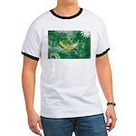 Mauritania Flag Ringer T