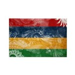 Mauritius Flag Rectangle Magnet (10 pack)