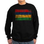 Mauritius Flag Sweatshirt (dark)