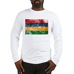 Mauritius Flag Long Sleeve T-Shirt