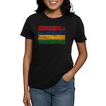 Mauritius Flag Women's Dark T-Shirt