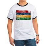 Mauritius Flag Ringer T