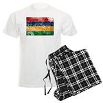 Mauritius Flag Men's Light Pajamas