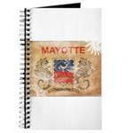 Mayotte Flag Journal