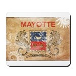 Mayotte Flag Mousepad