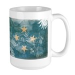 Micronesia Flag Large Mug