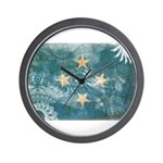 Micronesia Flag Wall Clock
