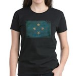 Micronesia Flag Women's Dark T-Shirt