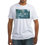Micronesia Flag Fitted T-Shirt