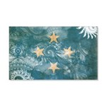 Micronesia Flag 22x14 Wall Peel