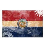 Missouri Flag Postcards (Package of 8)