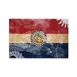 Missouri Flag Rectangle Magnet (100 pack)