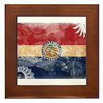 Missouri Flag Framed Tile