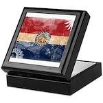 Missouri Flag Keepsake Box