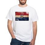 Missouri Flag White T-Shirt