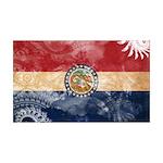 Missouri Flag 38.5 x 24.5 Wall Peel