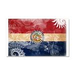 Missouri Flag Car Magnet 20 x 12