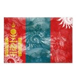 Mongolia Flag Postcards (Package of 8)