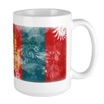 Mongolia Flag Large Mug